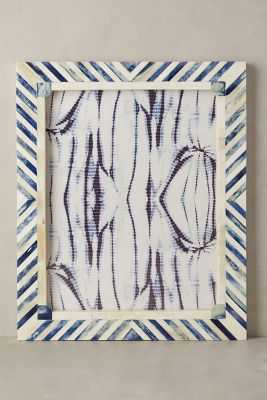 Cassos Frame, Blue Motif, 11'' x 14'' - Anthropologie