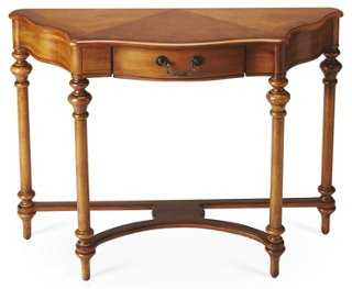 Taylor Console, Honey - One Kings Lane