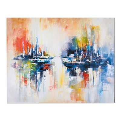Sailing Original Painting - AllModern