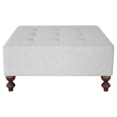 Tufted Large Cocktail Ottoman - Target