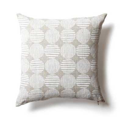 Striped Circles Pillow - shop.rebeccaatwood.com