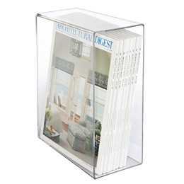 Magazine Slipcase Clear - containerstore.com