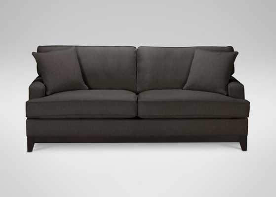 "81"" Arcata Sofa - Hailey Charcoal - Ethan Allen"