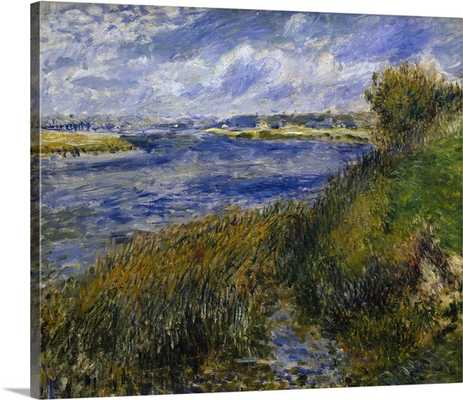 Banks of the Seine, Champrosay - Gallery Wrap - greatbigcanvas.com