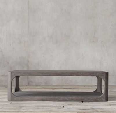 MARTENS RECTANGULAR COFFEE TABLE - RH