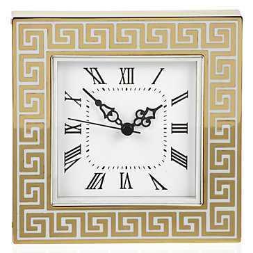 Greek Key Table Clock - Z Gallerie