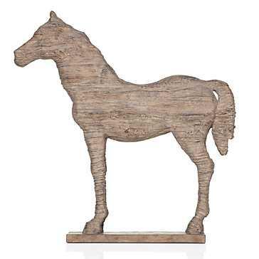 Faux Driftwood Horse - Z Gallerie