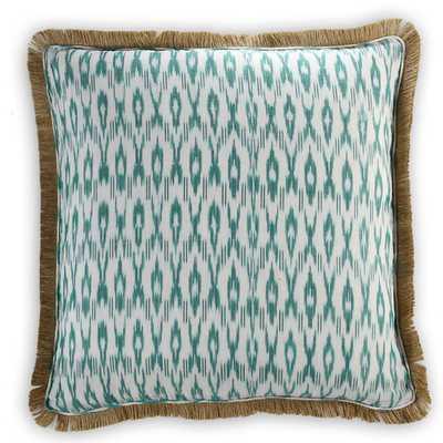 Brighton Cotton/Burlap Pillow Cover - AllModern
