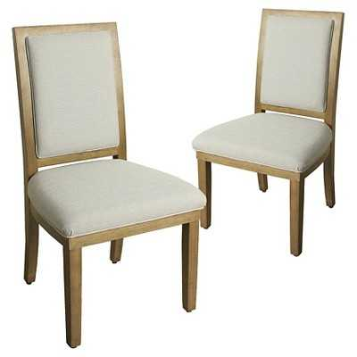 Morris Square Back Dining Chair (Set of 2) - Target