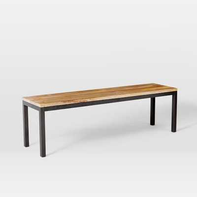 Box Frame Dining Bench - West Elm