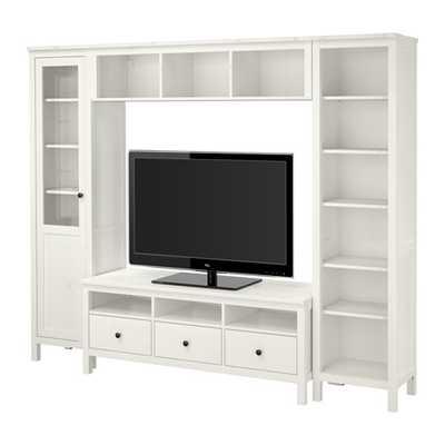 HEMNES TV storage combination - Ikea
