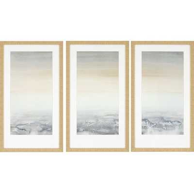 Sable Island 3 Piece Framed Painting Print Set - AllModern