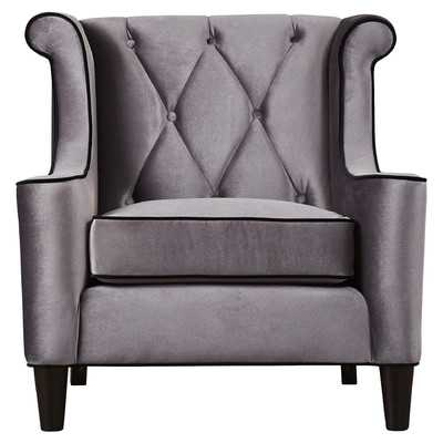 Winslet Velvet Arm Chair by House of Hampton - Wayfair