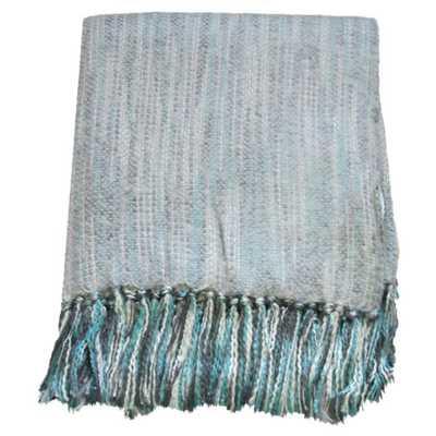 Zephyr Throw Blanket - Silver - AllModern