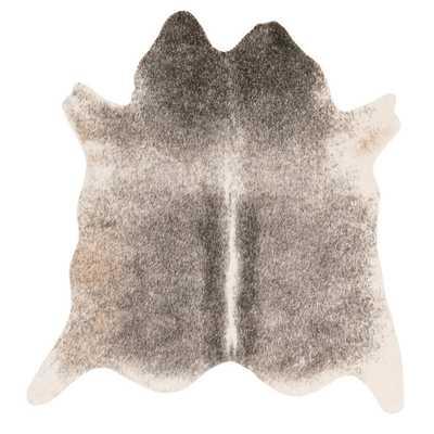 Rawhide Grey/ Ivory Rug (6'2 x 8'0) - Overstock