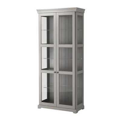 LIATORP Glass-door cabinet - Ikea