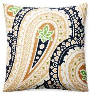 Laxmi 20x20 Cotton Pillow, Multi - One Kings Lane