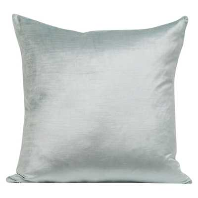 "MYKONOS DECORATIVE PILLOW VELVET-Blue-22"" - HD Buttercup"