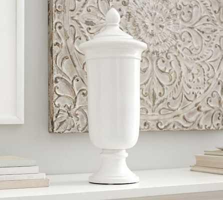 Hudson Ceramic Vase, Tall Urn - Pottery Barn