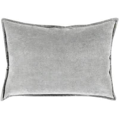 "Lumbar Pillow- 13"" H x 19"" W- Dark Gray- Insert Included - AllModern"