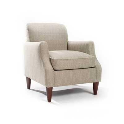 Astor Chair Fog - Domino