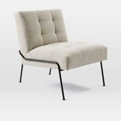 Oswald Tufted Slipper Chair - West Elm
