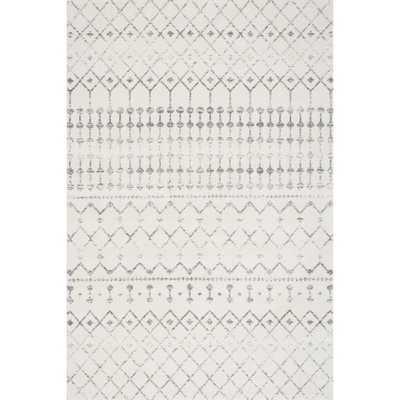 nuLOOM Geometric Moroccan Trellis Fancy Grey Rug - Overstock