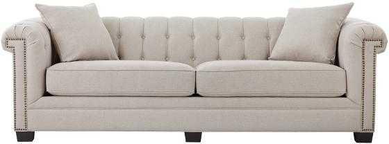 CHANDLER ARM LONG SOFA - Bespoke Kindling - Home Decorators