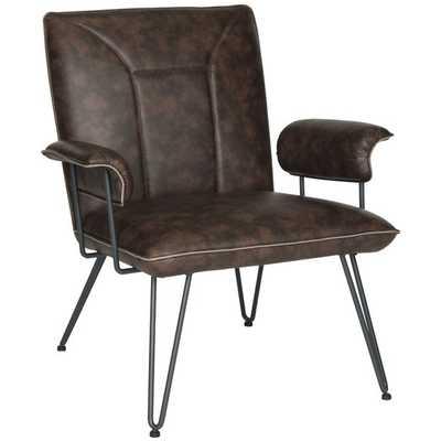 Arnaz Side Chair - Antique Brown - AllModern