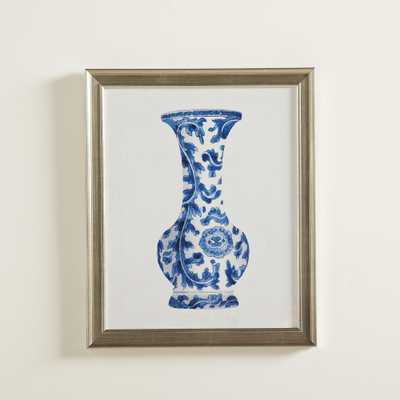 Porcelain Vase Framed Painting Print 2 - Birch Lane