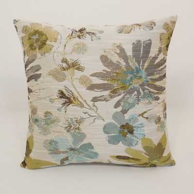 Perla Woven Floral Toss Throw Pillow - Wayfair