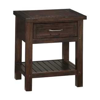 Home Styles Cabin Creek 1 Drawer Nightstand - Wayfair