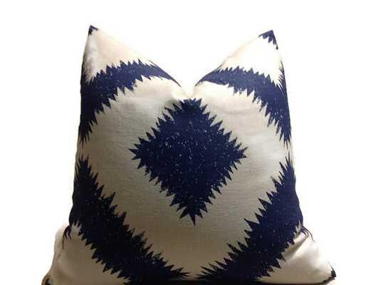Schumacher Pillow - Etsy
