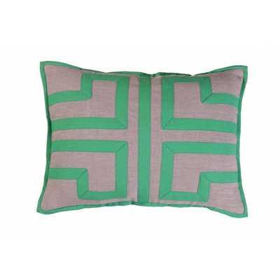 La Villa Linen/Cotton Lumbar Pillow - AllModern