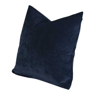 "Padma Throw Pillow - Blue Bell -20"" H x 20"" W x 6"" D - Polyester Insert - AllModern"