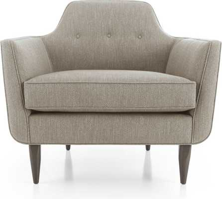 Gia Chair-Grey - Crate and Barrel