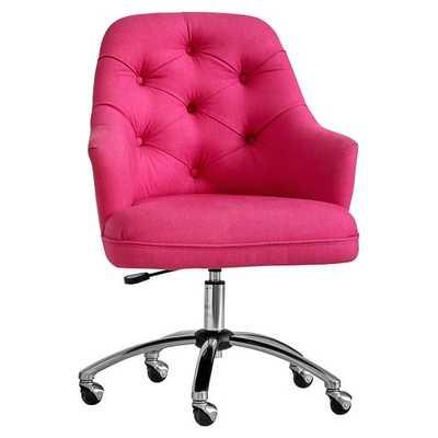 Tufted Desk Chair - Pottery Barn Teen