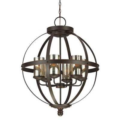 Sfera 6-light Autumn Bronze Chandelier - Overstock