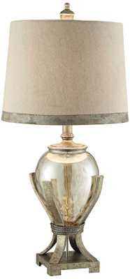Crestview Collection Hawthorne Glass Amphora Table Lamp - Lamps Plus