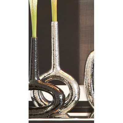 Keyhole Round Vase - Wayfair