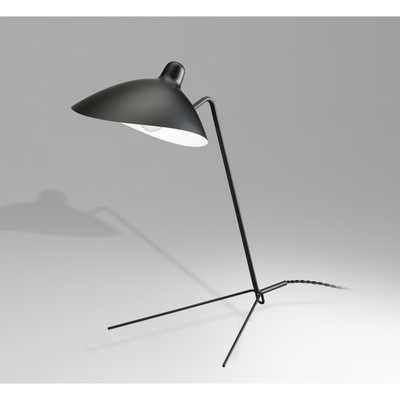 Einer Table Lamp - Black - France & Son