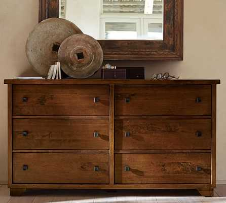 Sumatra Extra-Wide Dresser - Pottery Barn