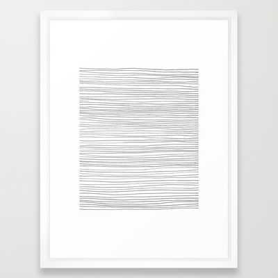 More Lines - Framed - Society6