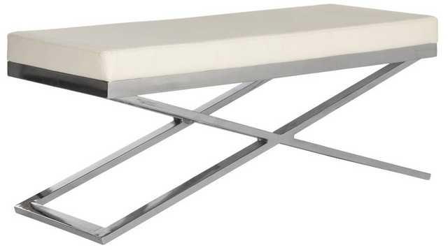 Acra Bench - Silver - Domino