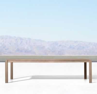 AEGEAN TEAK RECTANGULAR DINING TABLE - RH
