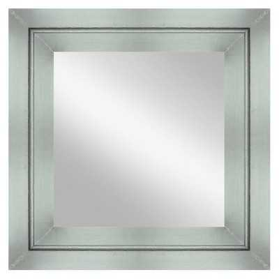 "Thresholdâ""¢ Silver Clad Decorative Wall Mirror - Target"
