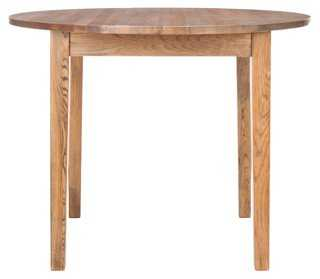 """Norma 40"""" Dining Table, Elm - One Kings Lane"""