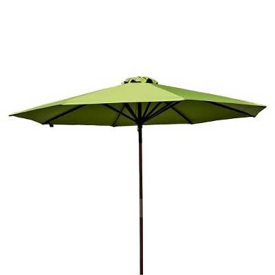 Parasol 9' Classic Wood Patio Umbrella - Target