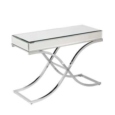 Caraman Mirrored Console Table - Wayfair