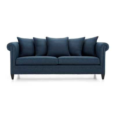 Durham Sofa - Sapphire - Crate and Barrel